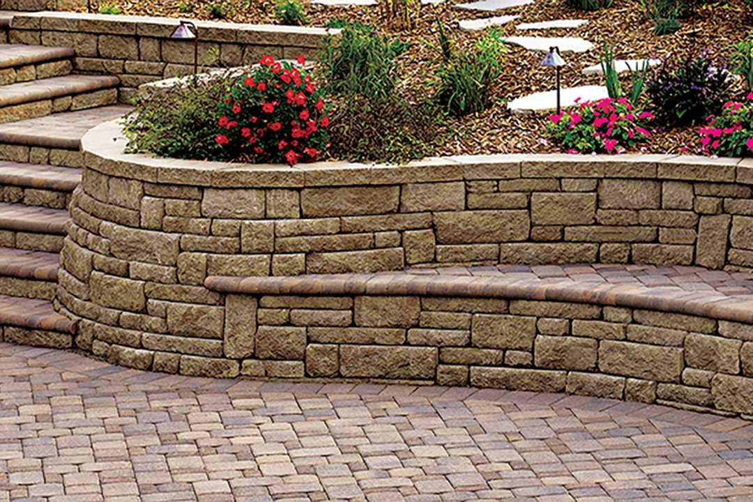 Highland Wall Hardscapes Retaining Wall
