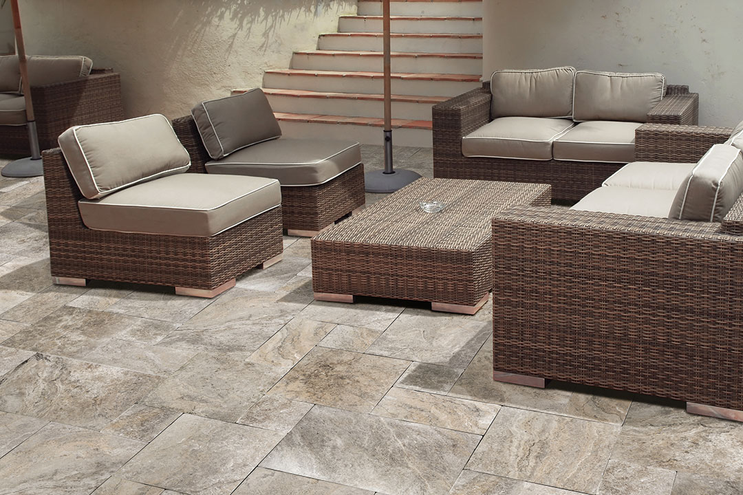 Silver Natural Stone Hardscapes