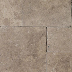 Dark Noce Travertine Natural Stone Hardscapes