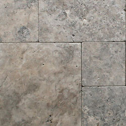 Silver Travertine Natural Stone Hardscapes