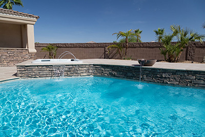 Blue Splash Pool Finishes ColorScapes