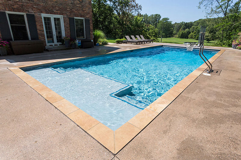 Aqua White Pool Finishes Mini Pebbels StoneScapes