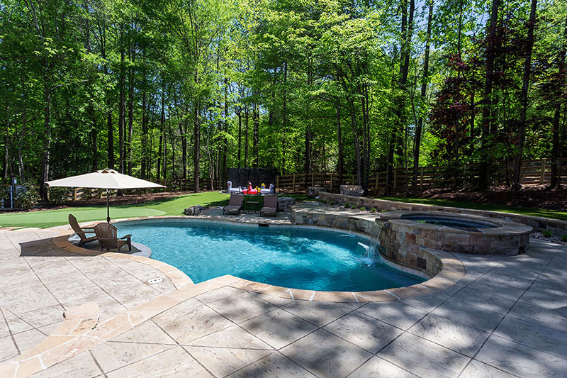 Caribbean Blue StoneScapes Mini Pebbles Pool Finishes