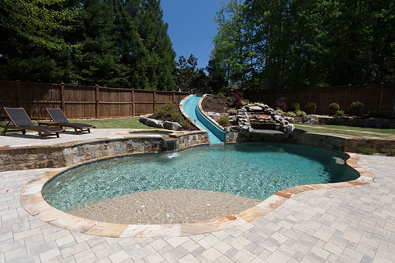 Sand StoneScapes Mini Pebbles Pool Finishes