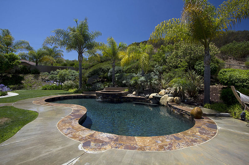 Black Puerto Rico Blend StoneScapes Pool Finishes
