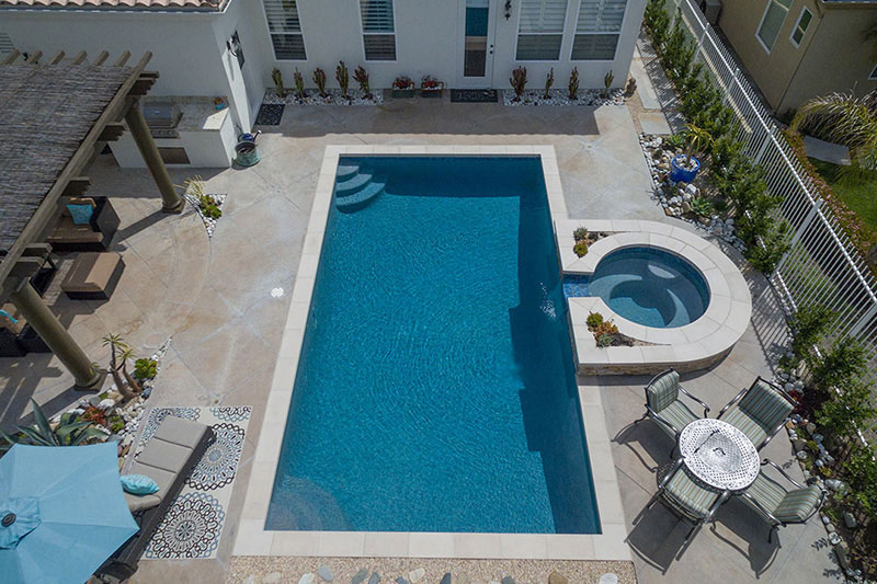 Aqua Blue StoneScapes Puerto Rico Blend Pool Finishes