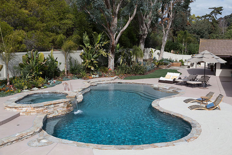 Tahoe Blue Puerto Rico Blend StoneScapes Pool Finishes