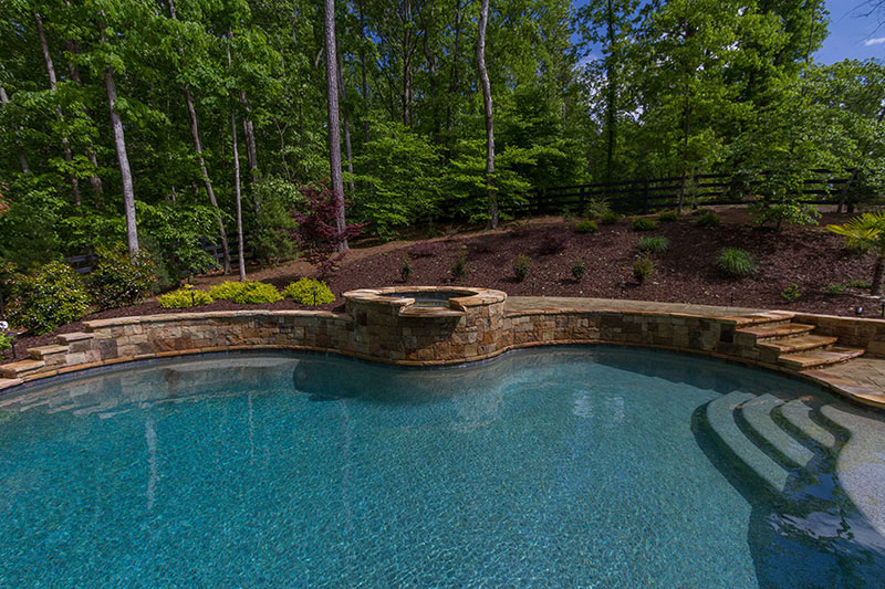 Caribbean Blue Stonescapes Regular Pebbles Pool Finishes