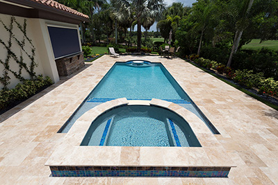 Aqua White Pool Finishes StoneScapes