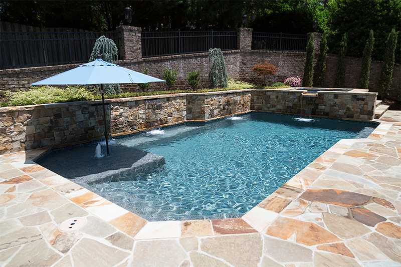 Stonescapes Pebble Amp Glass Pool Finishes Nptpool Com