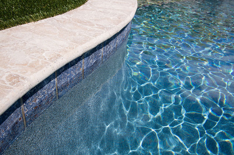 Tropics Touch of Glass Blue StoneScapes
