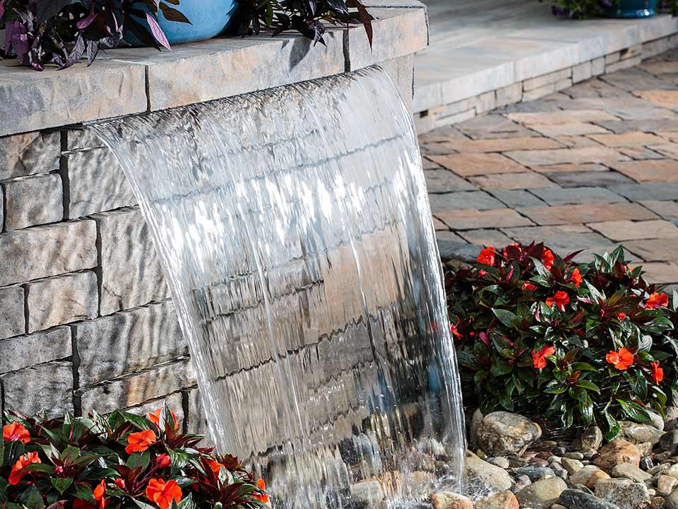 Retaining Walls Water features