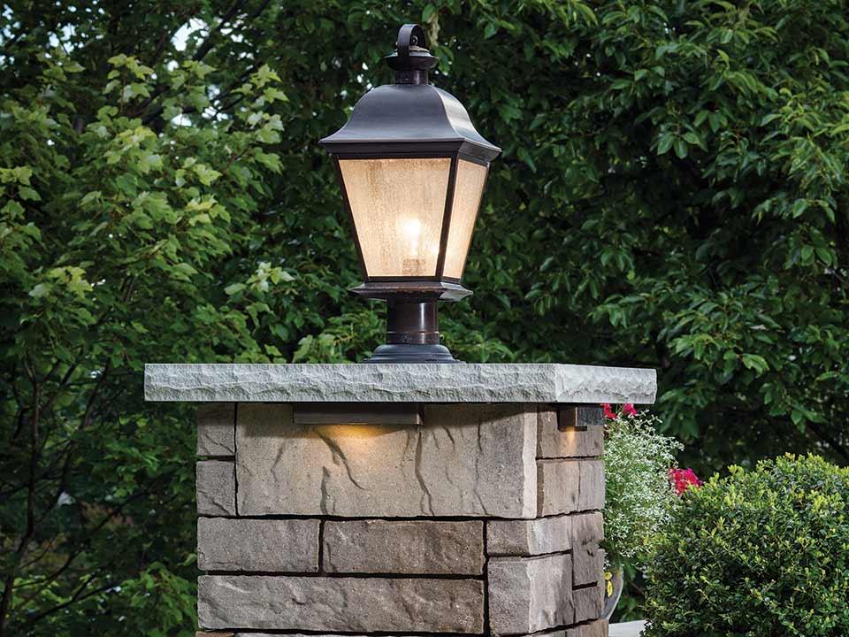 Retaining Walls Columns Lamp