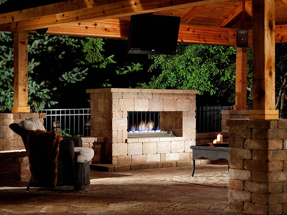 Retaining Walls Outdoor Fire Feature