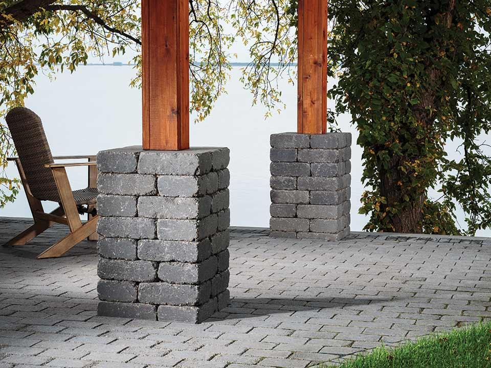 Retaining Walls Columns